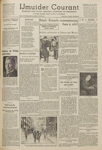 IJmuider Courant 1939-05-22