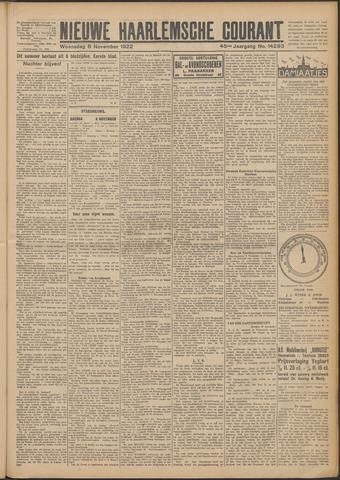 Nieuwe Haarlemsche Courant 1922-11-08