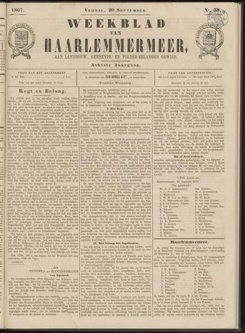 Weekblad van Haarlemmermeer 1867-09-20