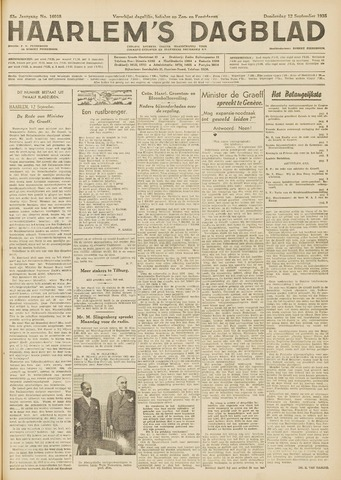 Haarlem's Dagblad 1935-09-12