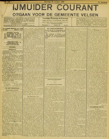 IJmuider Courant 1922-10-21