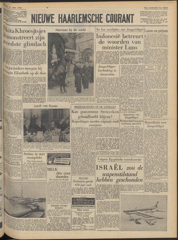 Nieuwe Haarlemsche Courant 1956-04-21