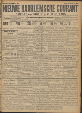 Nieuwe Haarlemsche Courant 1911-03-30