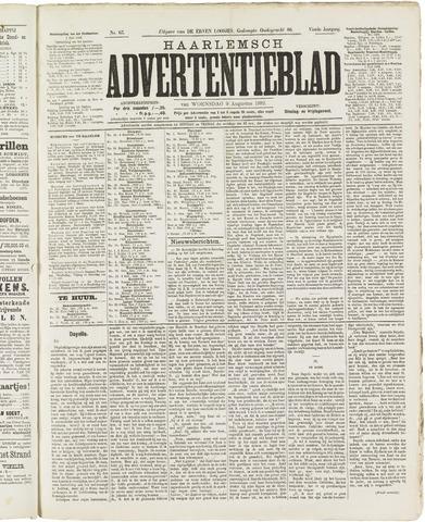 Haarlemsch Advertentieblad 1882-08-09