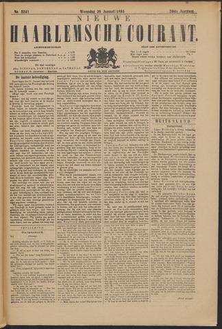 Nieuwe Haarlemsche Courant 1895-01-30