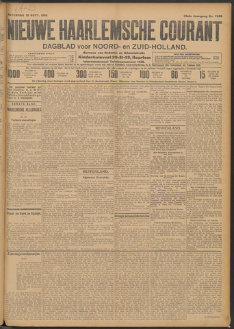 Nieuwe Haarlemsche Courant 1910-09-10