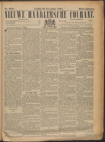 Nieuwe Haarlemsche Courant 1895-11-29