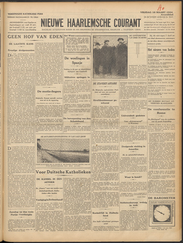 Nieuwe Haarlemsche Courant 1934-03-16