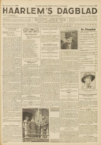 Haarlem's Dagblad 1935-08-08