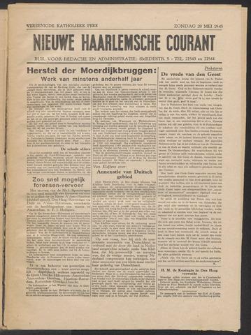 Nieuwe Haarlemsche Courant 1945-05-20