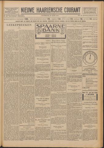 Nieuwe Haarlemsche Courant 1931-06-20