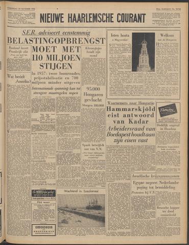 Nieuwe Haarlemsche Courant 1956-11-29