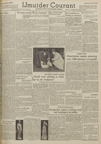 IJmuider Courant 1948-04-24