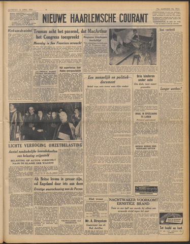 Nieuwe Haarlemsche Courant 1951-04-14