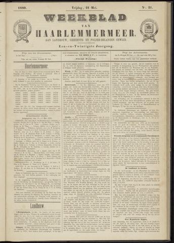 Weekblad van Haarlemmermeer 1880-05-21