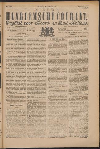 Nieuwe Haarlemsche Courant 1901-02-20