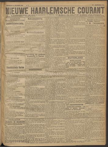 Nieuwe Haarlemsche Courant 1918-10-14