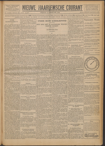 Nieuwe Haarlemsche Courant 1928-02-24