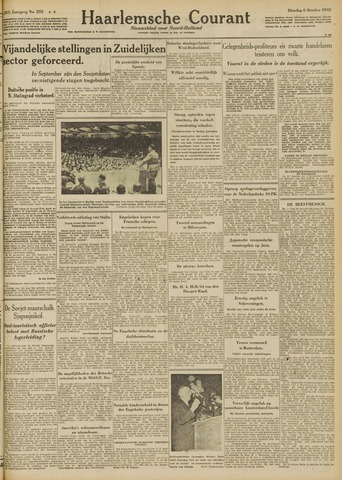 Haarlemsche Courant 1942-10-06