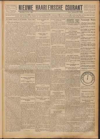 Nieuwe Haarlemsche Courant 1927-12-12