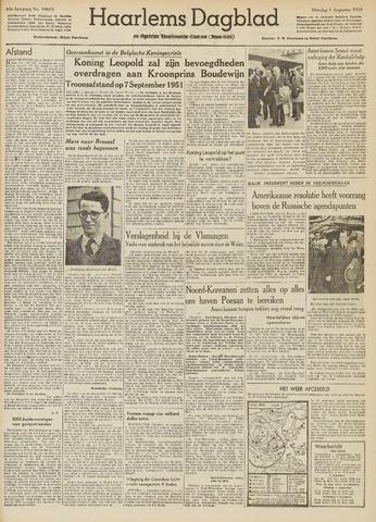 Haarlem's Dagblad 1950-08-01