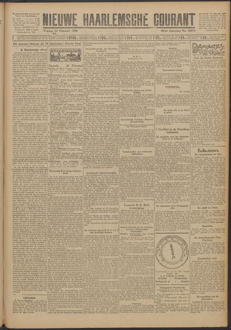 Nieuwe Haarlemsche Courant 1925-02-20