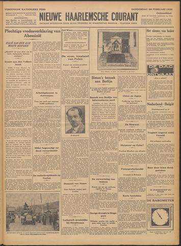 Nieuwe Haarlemsche Courant 1935-02-28