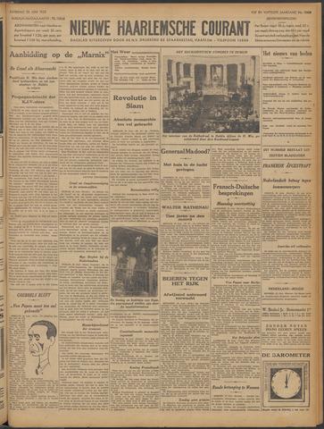 Nieuwe Haarlemsche Courant 1932-06-25