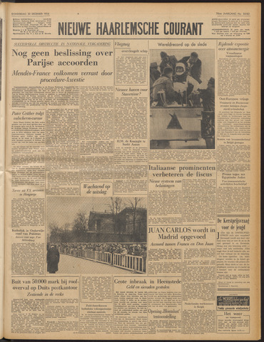 Nieuwe Haarlemsche Courant 1954-12-30