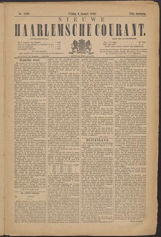 Nieuwe Haarlemsche Courant 1888-01-06