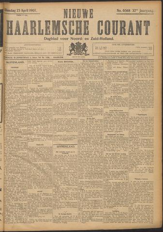Nieuwe Haarlemsche Courant 1907-04-23