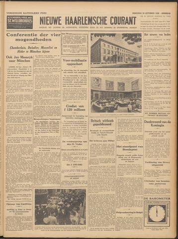 Nieuwe Haarlemsche Courant 1938-09-29
