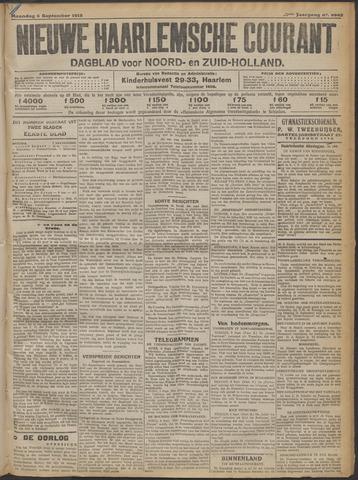 Nieuwe Haarlemsche Courant 1915-09-06