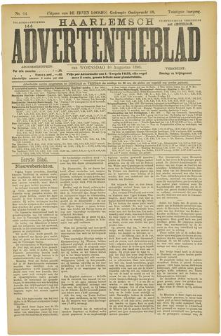 Haarlemsch Advertentieblad 1898-08-10