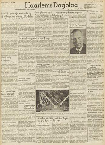 Haarlem's Dagblad 1947-11-11