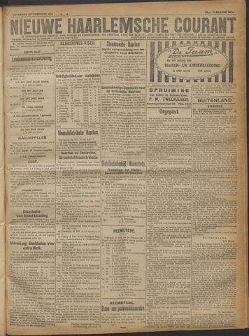 Nieuwe Haarlemsche Courant 1919-02-22