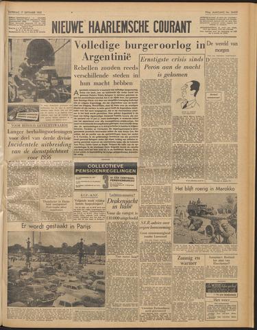 Nieuwe Haarlemsche Courant 1955-09-17