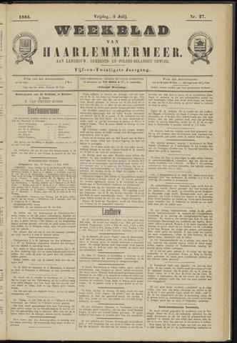 Weekblad van Haarlemmermeer 1884-07-04