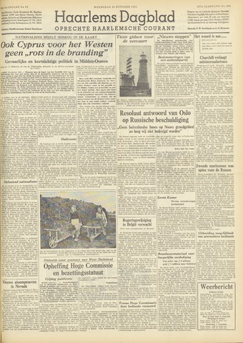 Haarlem's Dagblad 1951-10-31