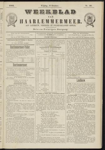 Weekblad van Haarlemmermeer 1882-10-06