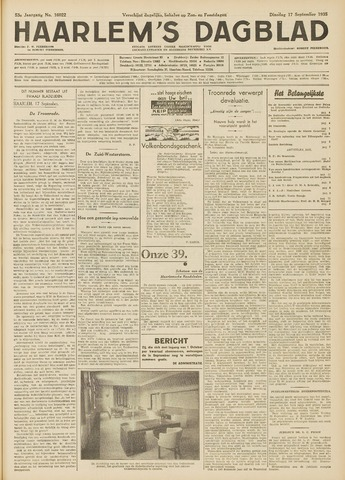 Haarlem's Dagblad 1935-09-17