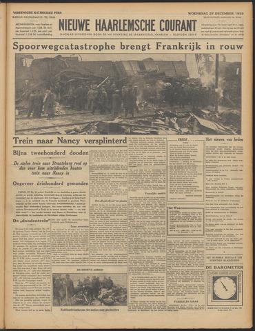 Nieuwe Haarlemsche Courant 1933-12-27