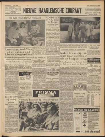 Nieuwe Haarlemsche Courant 1958-07-03