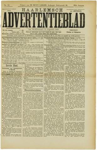 Haarlemsch Advertentieblad 1889-08-14