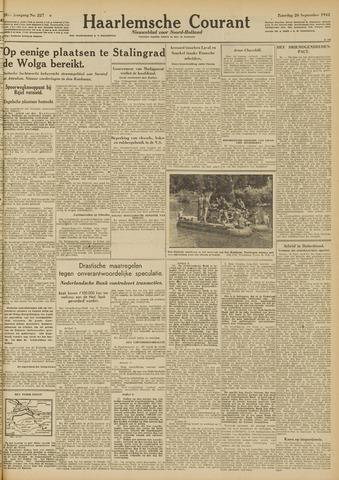 Haarlemsche Courant 1942-09-26