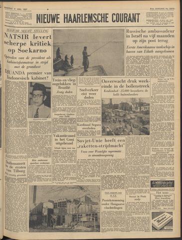 Nieuwe Haarlemsche Courant 1957-04-08