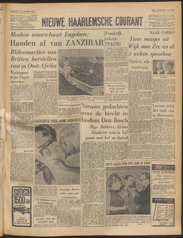 Nieuwe Haarlemsche Courant 1964-01-27