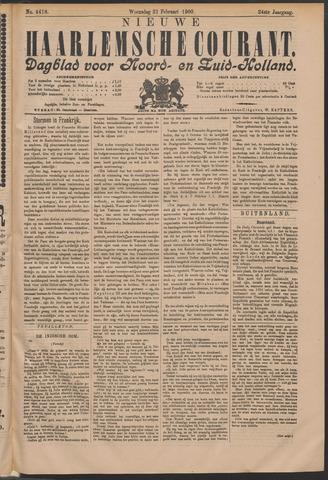 Nieuwe Haarlemsche Courant 1900-02-21