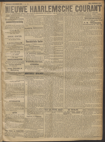 Nieuwe Haarlemsche Courant 1918-11-08