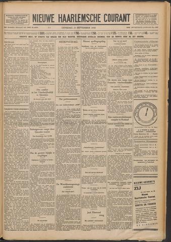 Nieuwe Haarlemsche Courant 1930-09-23